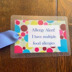 Allergy Tag